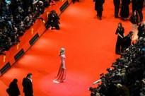 Nina Hoss auf dem roten Teppich der Berinale 2013