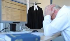 Viele Pfarrer leiden unter Burn-out