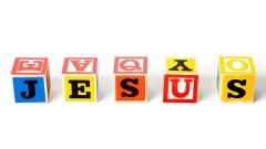 Jesus Bauklötze für einfache Kirchensprache