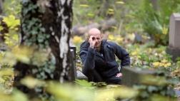 Zum Glück Deutschland: Eldar Faber malt am liebsten den deutschen Wald.