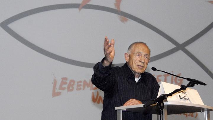 Heiner Geißler hat zum Reformationsjubiläum Jesus vermisst