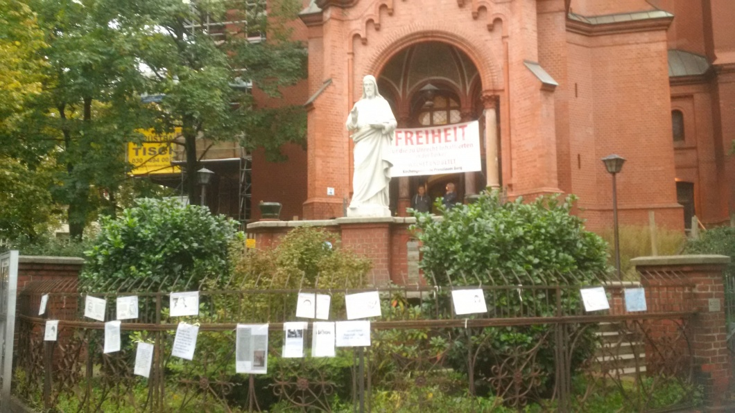 Berliner Gethsemanekirche in Prenzlauer Berg
