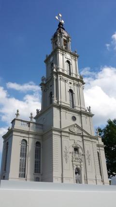 Modell der Garnisonkirche im Maßstab 1:100
