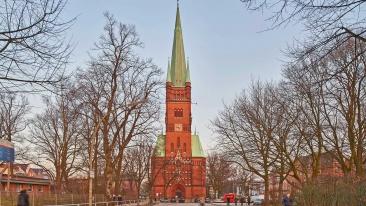 St. Johanniskirche-Harvestehude in Hamburg