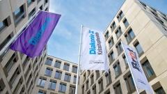 Gebäude des Evangelischen Werks für Diakonie und Entwicklung in Berlin .