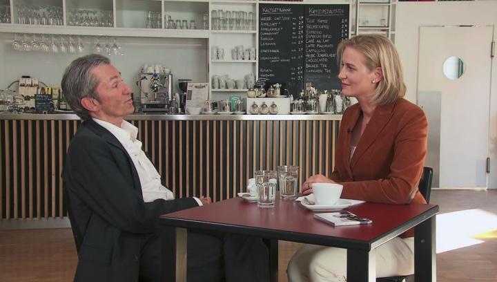 """Rüdiger Wollf bei """"So gesehen – Talk am Sonntag"""""""