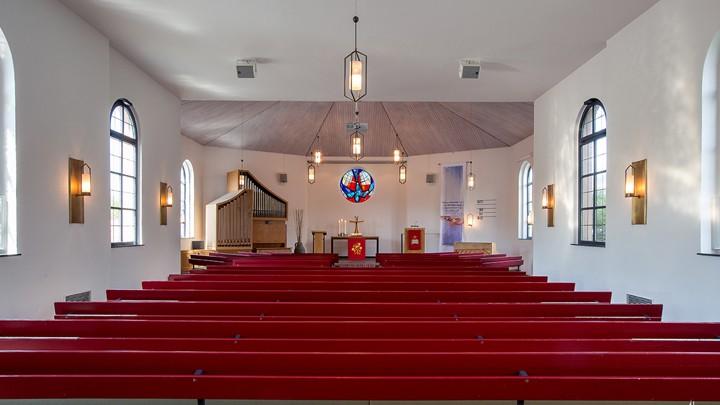 Kirchensaal der EmK-Brombach