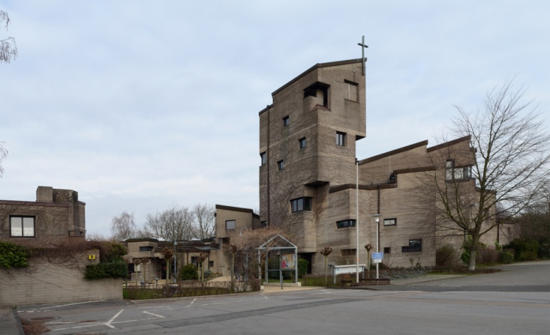 Friedenskirche in Monheim (1968-74)