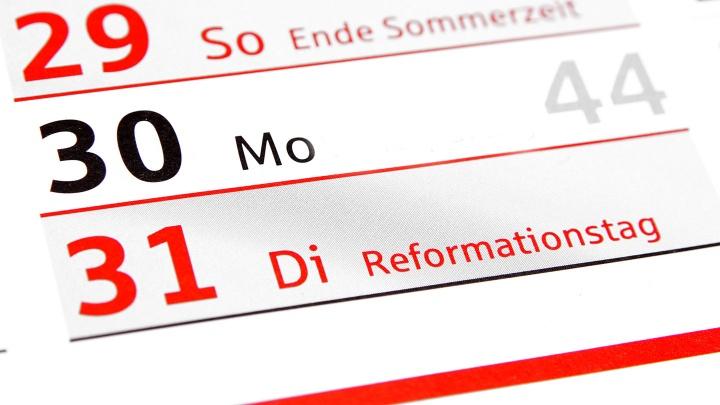 Der Deutsche Kulturrat plädiert dafür,  dass der Reformationstag in Zukunft in allen Bundesländern Feiertag sein sollte.
