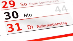 Reformationstag (31. Oktober)
