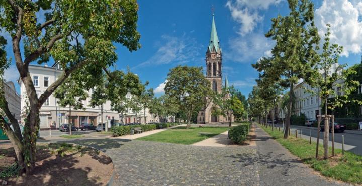Gottesdiesnt ZDF 170430 Bild Johaniskirche Darmstadt