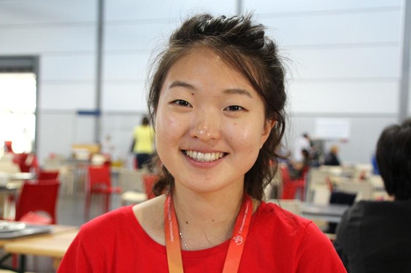 Ahee Kim aus Südkorea