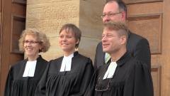 """Pfarrerin werden -  Pfarrerin sein. Irmela Büttner findet ihren Beruf: """"Das Evangelium lauter verkündigen"""""""