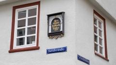 Eckhaus an der Barfüsserstrasse und Schneidersberg in Marburg