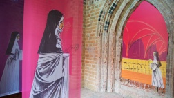 Ausstellung in den Räumen des evangelischen Frauenklosters Stift zum Heiligengrabe in Brandenburg.