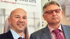 idea-Leiter Matthias Pankau und Helmut Matthies.
