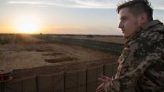 Ein Bundeswehrsoldat der UN-Mission Minusma