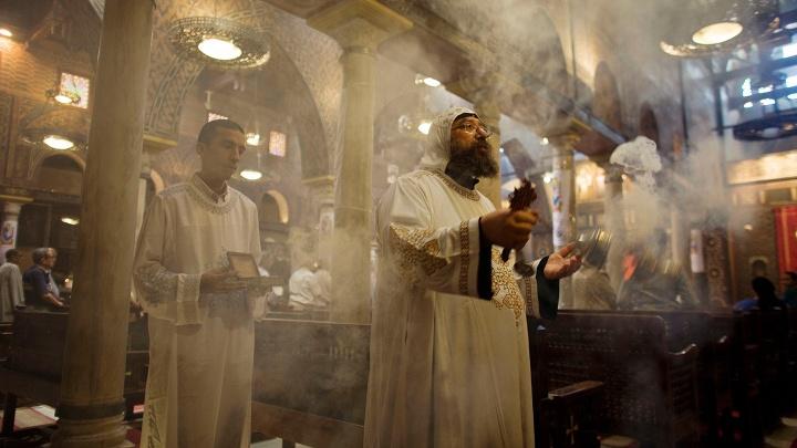 Kopten in Kairo